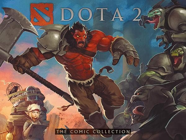 DOTA 2: The Comic Collection (komikss)