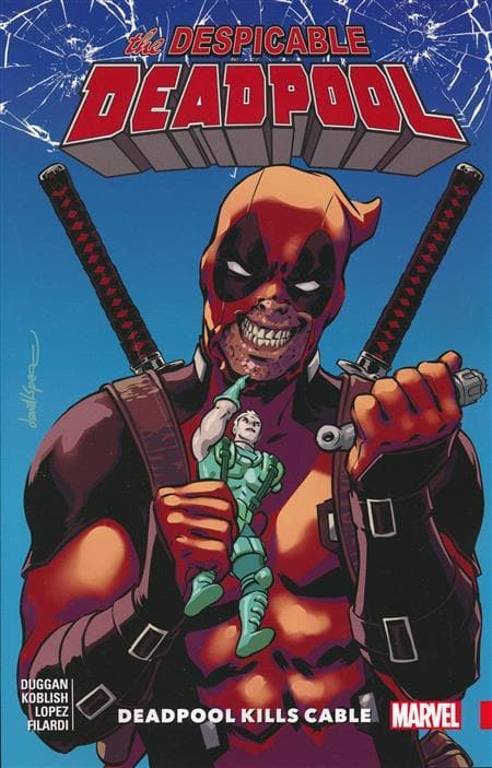 Despicable Deadpool, Vol 1, Deadpool Kills Cable
