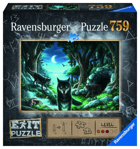 Puzzle Escape 759 The Curse of the Wolves
