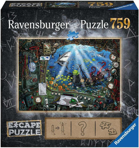 Puzzle Escape 759 Submarine