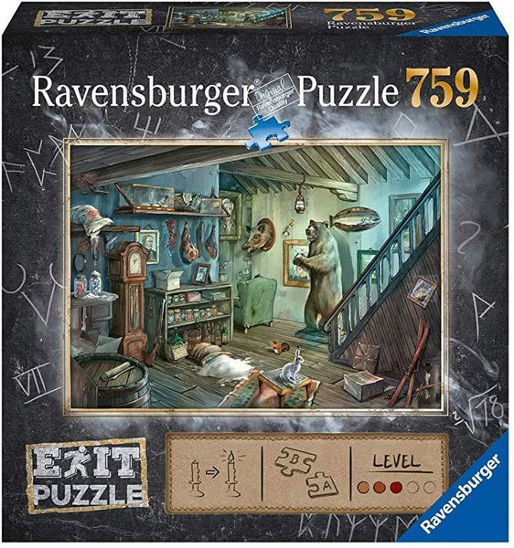 Puzzle Escape 759 The Forbidden Basement