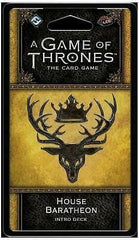 A Game of Thrones: The Card Game - House Baratheon Intro Deck