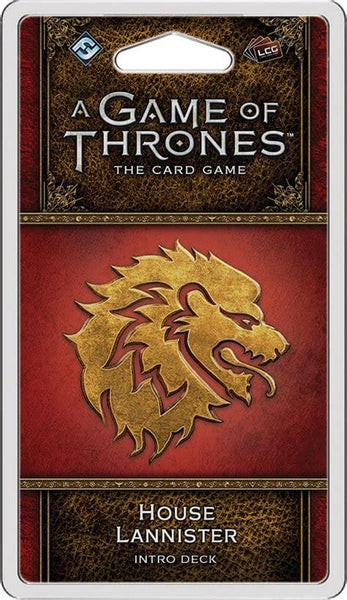 A Game of Thrones: The Card Game - House Lannister Intro Deck