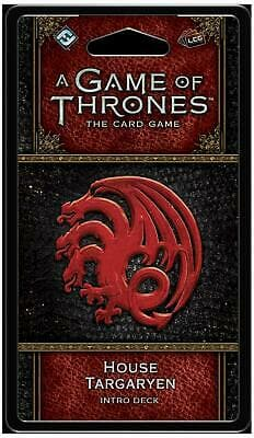 A Game of Thrones: The Card Game - House Targaryen Intro Deck