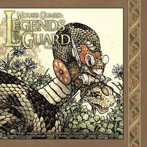Mouse Guard: Legends of the Guard, Vol 3, cietie vāki (komikss)