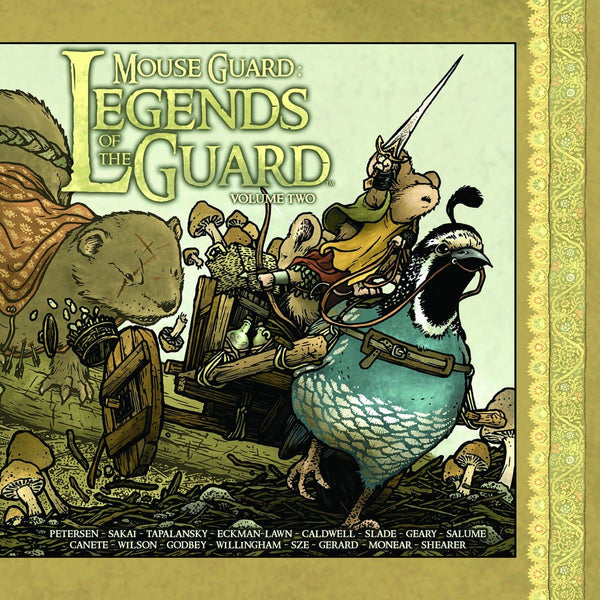 Mouse Guard: Legends of the Guard, Vol 2, cietie vāki (komikss)