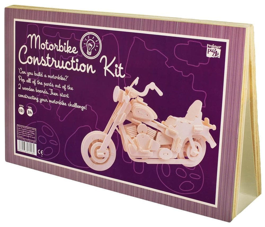 Construction Kit: Wooden Motorbike