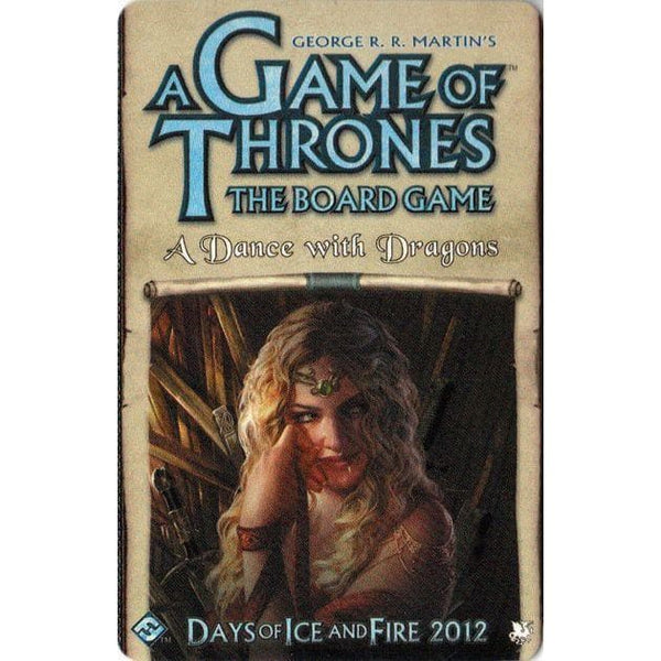 A Game of Thrones: The Board Game, 2nd Ed. – A Dance with Dragons (paplašinājums), galda spēle