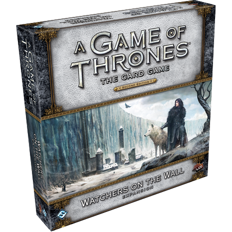 A Game of Thrones: The Card Game - Watchers on the Wall (paplašinājums), galda spēle