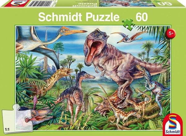 Amongst the Dinosaurs, 60 pcs, puzle