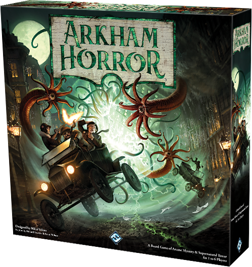 Arkham Horror Third Edition: Deluxe Gamemat, galda spele