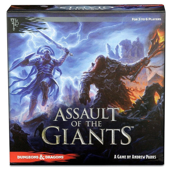 D&D Assault of Giants Board Game