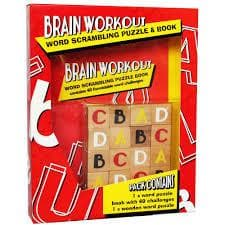 Brain Workout: Word Scrambling, prāta mežģis