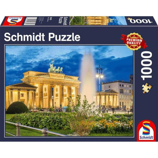 Puzle, 1000 - Brandenburg Gate, Berlin