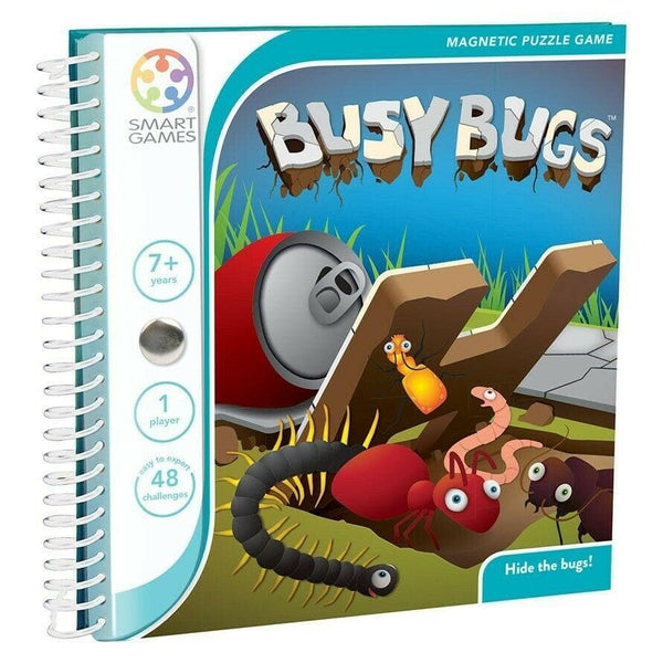 Busy Bugs - Magnetic Puzzle Game
