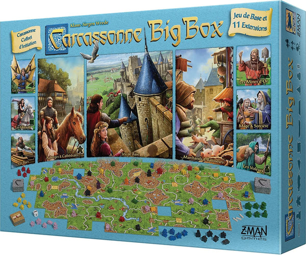 Carcassonne Big Box 2017 ENG (NEW)