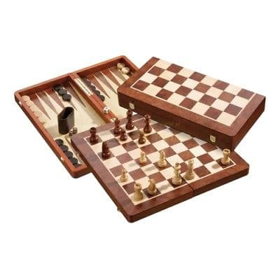 Chess-Checkers-Backgammon Set 485 x 250 x 72 mm