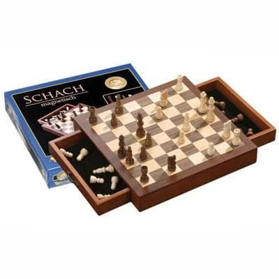 Chess Set, magnetic, field 33 mm