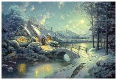 Christmas Moonlight, 500, puzle
