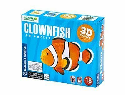 Clown Fish 3D Puzzle
