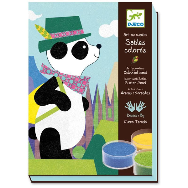 Colored Sand: Panda and Friends, galda spēle