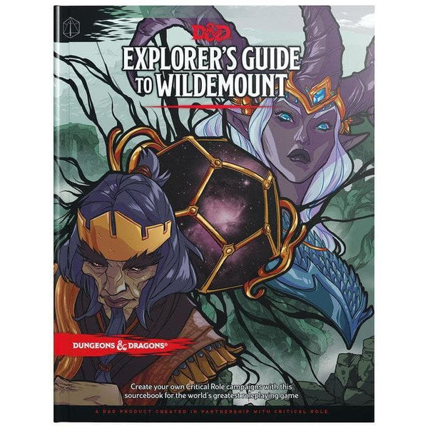 dungeons and dragons 5th edition explorers guide to wildemount, galda spele