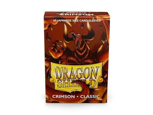 CRIMSON CLASSIC JAPANESE (60 ct. in box) - Dragon Shield Sleeves