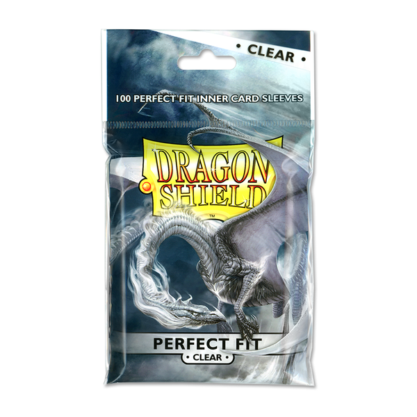 Dragon Shield - Perfect Fit Clear Inner Sleeves (100)