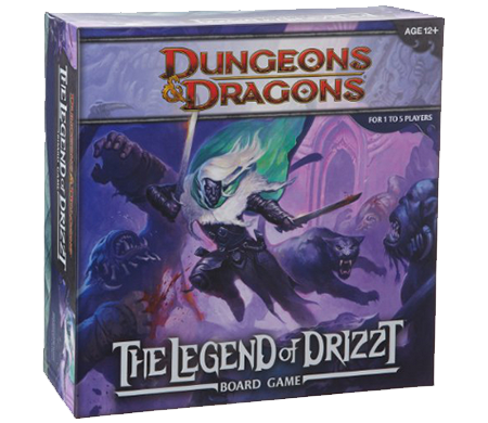 Dungeons & Dragons: The Legend of Drizzt, galda spēle