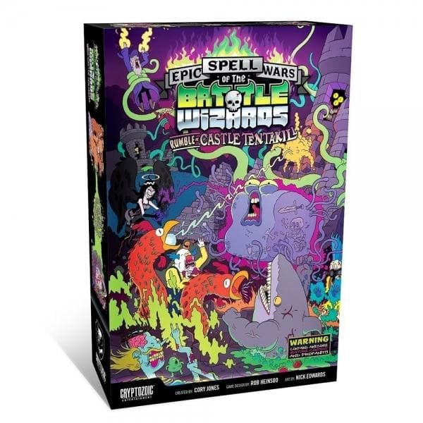 Epic Spell Wars of the Battle Wizards: Rumble at Castle Tentakill, galda spēle