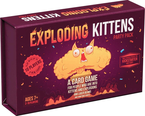 Exploding Kittens: Party Pack Game, galda spēle