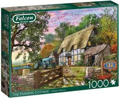 Puzle, 1000 - Falcon Deluxe: The Farmers Cottage