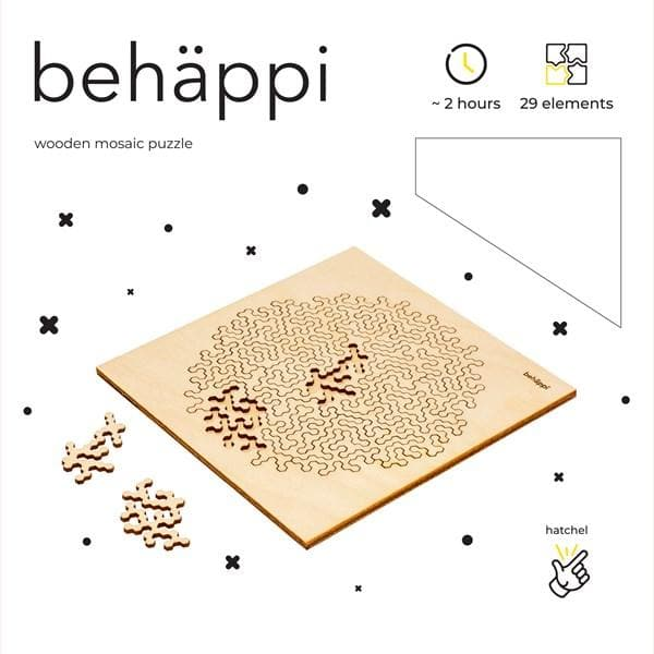 Behäppi koka puzle - Hatchel Medium