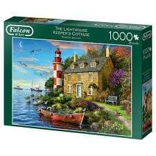 Puzle, 1000 - Falcon Deluxe: The Lighthouse Keeper's Cottage
