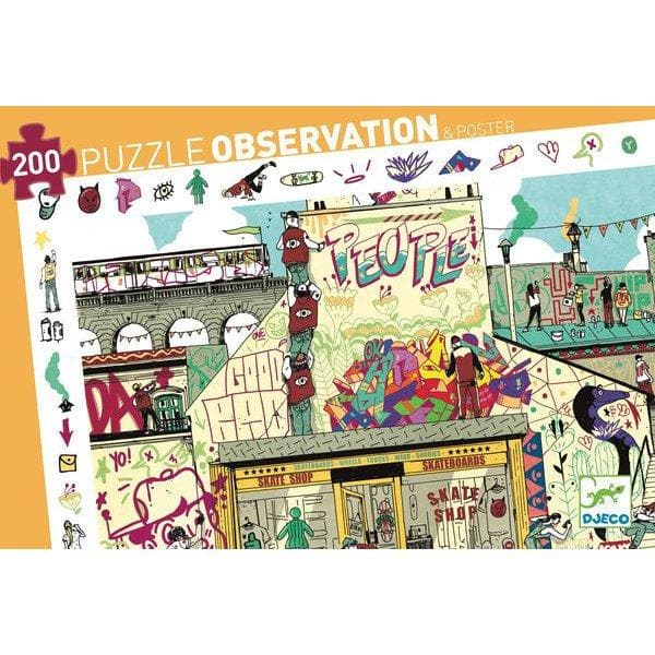 "Observation puzzle ""Street art"", 200 pcs"