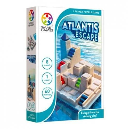 atlantis escape, smart games, galda spele