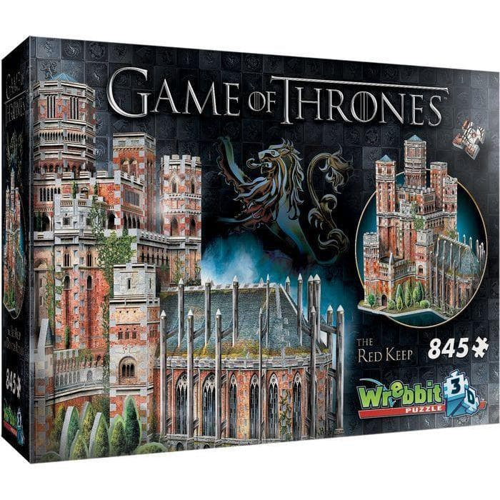 3D Puzle, 845 - Game of Thrones: The Red Keep