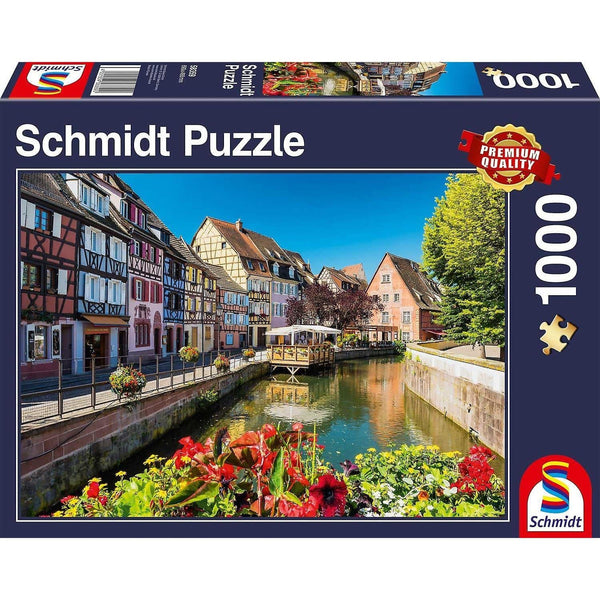 Puzle, 1000 - Little village with half-timbered