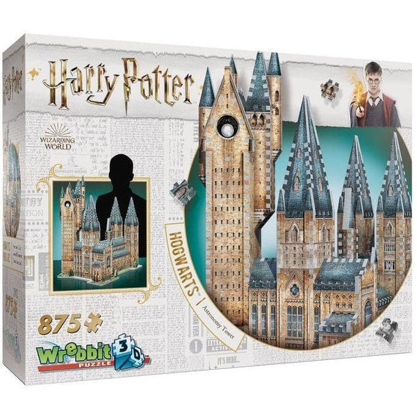 3D Puzle, 875 - Harry Potter: Astronomy Tower