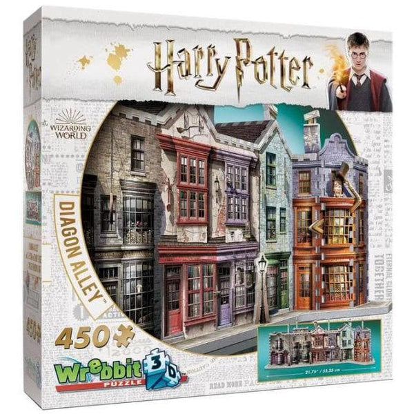 3D Puzle, 460 - Harry Potter: Diagon Alley