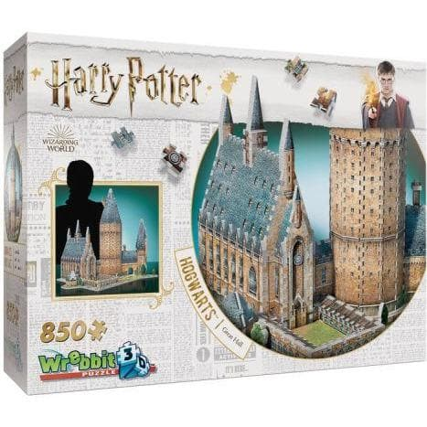 3D Puzle, 850 - Harry Potter: Great Hall