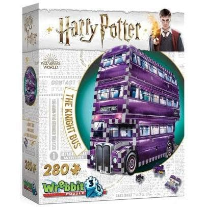 3D Puzle, 280 - Harry Potter: The Knight Bus