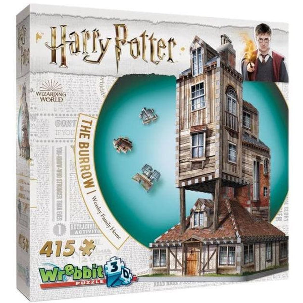 3D Puzle, 850 - Harry Potter: Weasley Family Home