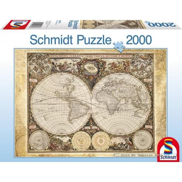 Historical Map of the World, 2000, puzle
