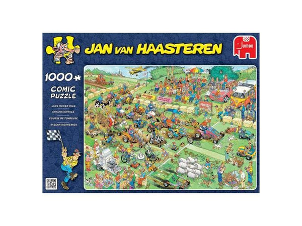Jan van Haasteren: Lawn Mower Race, 1000, puzle