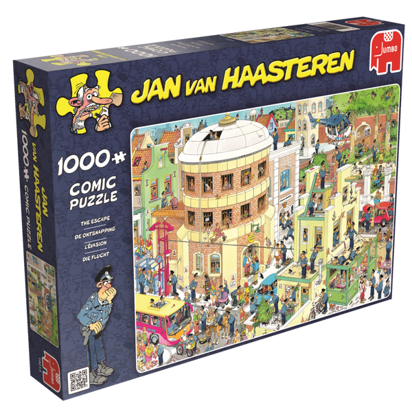 Jan van Haasteren: The Escape, 1000, puzle