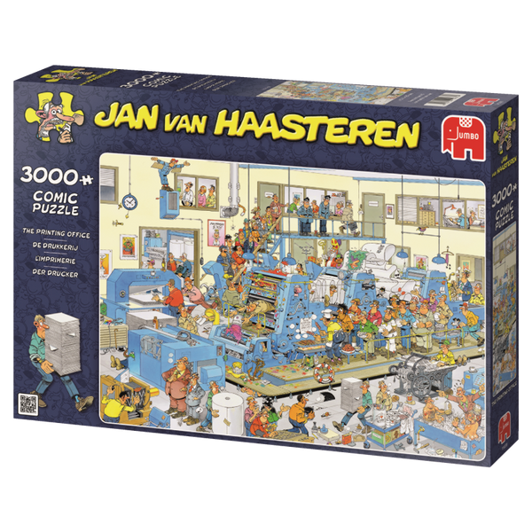 Jan van Haasteren: The Printing Office, 3000, puzle