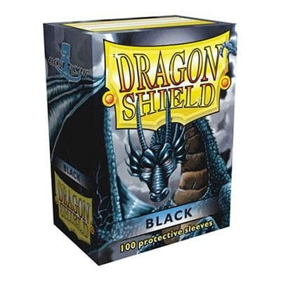 Dragon Shield - Black, 63.5x88, 100 gab.