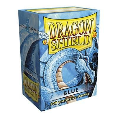 Dragon Shield - Blue, 63.5x88, 100 gab.