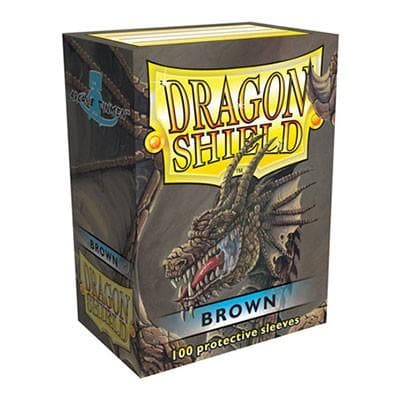 Dragon Shield - Brown, 63.5x88, 100 gab.